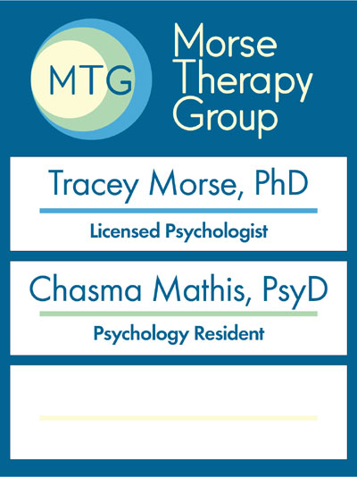 Morse Therapy Group directory sign