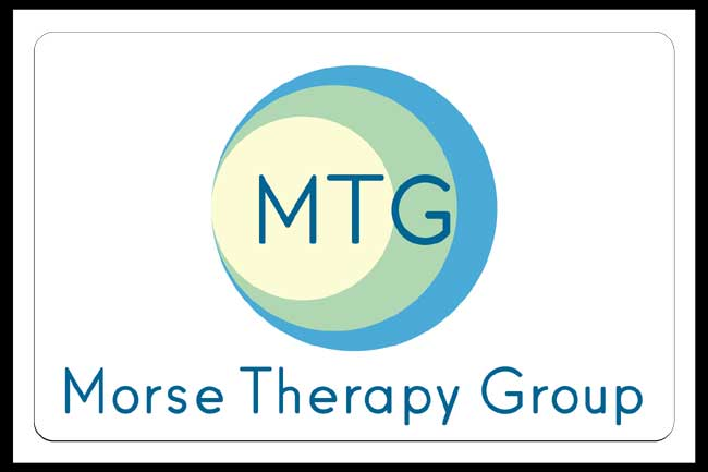 Morse Therapy Group back lit pan face sign