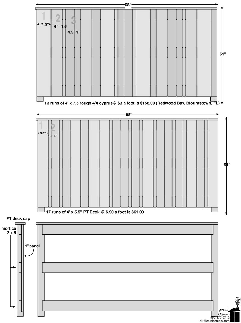 Morse Therapy Group partition for trash cans