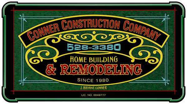 Sign Panel: JB Conner Construction